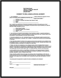 dental implant consent form pdf